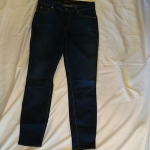 7 for all Mankind crop jeans